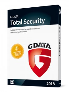 G Data TOTAL PROTECTION 2018 1PC 1rok ESD