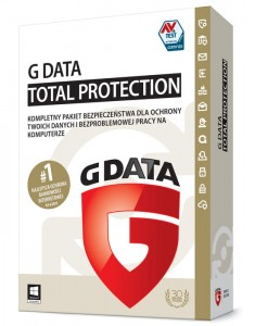 G Data TOTAL PROTECTION 2018 1PC 1rok UPGRADE ESD