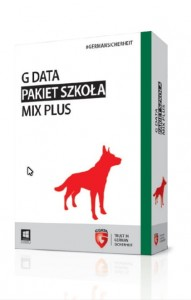G Data Pakiet Szkoła MIX PLUS 50PC 1rok