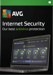 AVG Internet Security 2016 1PC 2 lata