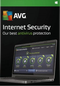 AVG Internet Security 2016 4PC 1 rok