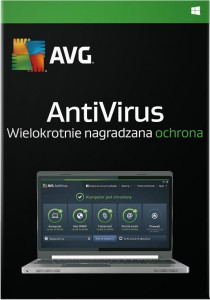 AVG AntiVirus 2015 3PC 1 rok