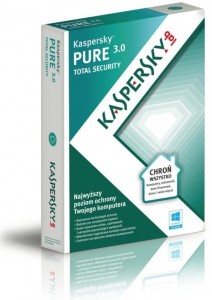Kaspersky PURE 3.0 Total Security 1PC 1rok ESD