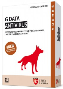 G Data ANTIVIRUS 2015 2PC 1rok BOX